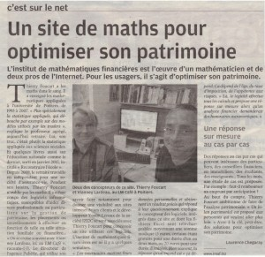 article centrepresse pubetic imaf