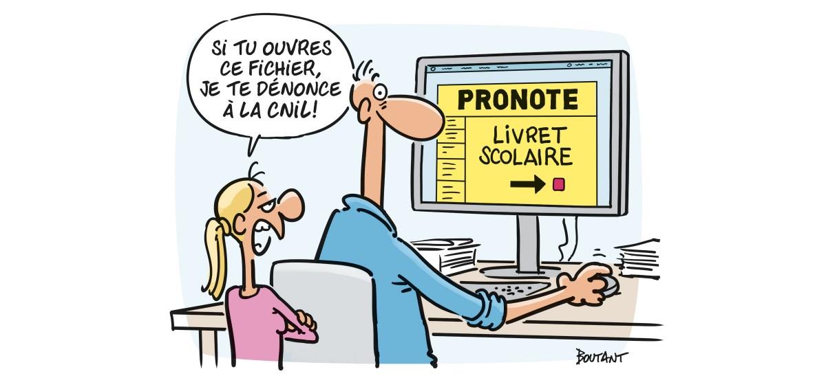 la rgpd à Poitiers image humoristique