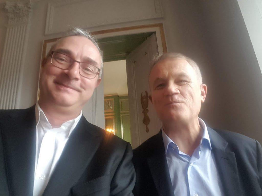 Vianney Lardeau et Jean-Pierre Remy